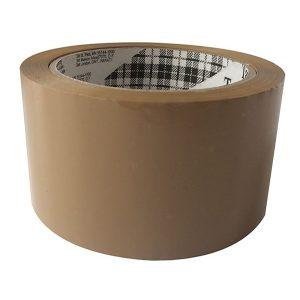 Buff Polypropylene Tape – 75mm x 66 mtrs